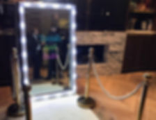 Magic Mirror photobooth hire hertfordshire