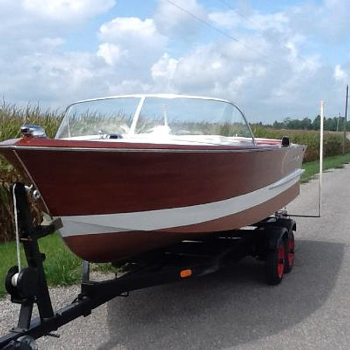 1964 Chris Craft Ski Boat 17'