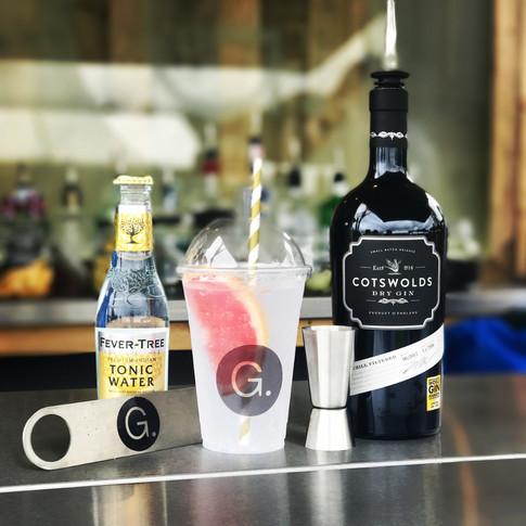 Gin Horse Box Bar