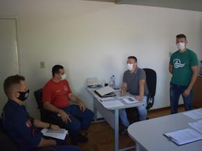 Novo comandante do CBM de São Carlos se apresenta à administração