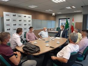 Continua a agenda de compromissos do prefeito de São Carlos na capital do estado