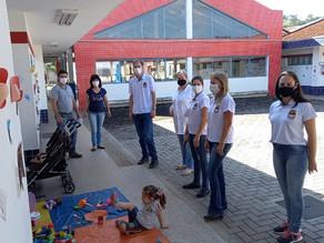 Educação de São Carlos faz visitas técnicas para conhecer experiências na educação infantil