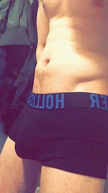 Worn Hollister tiny boxers