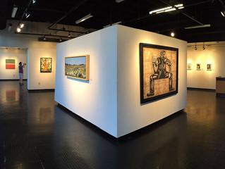 Cu4tro Caminos Painting Exhibition at Miami Dade College