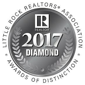 Little Rock Realtors Association 2017 Diamond Award