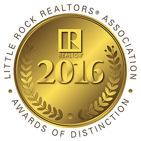 Little Rock Realtors Association 2016 Gold Award