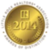 Little Rock Realtors Association 2014 Gold Award