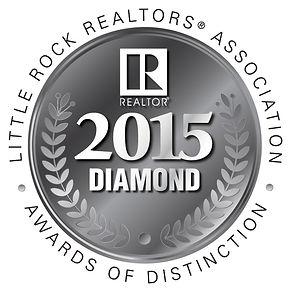 Little Rock Realtors Association 2015 Diamond Award