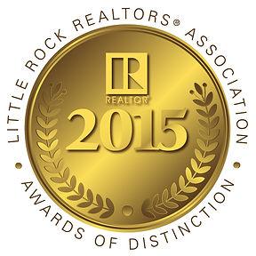 Little Rock Realtors Association 2015 Gold Award