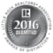 Little Rock Realtors Association 2016 Diamond Award