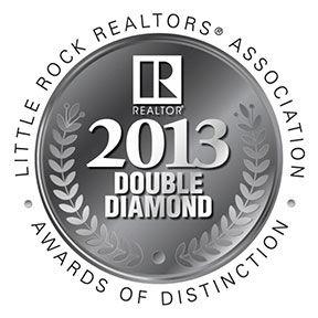 Little Rock Realtors Association 2013 Double Diamond Award