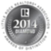Little Rock Realtors Association 2014 Diamond Award