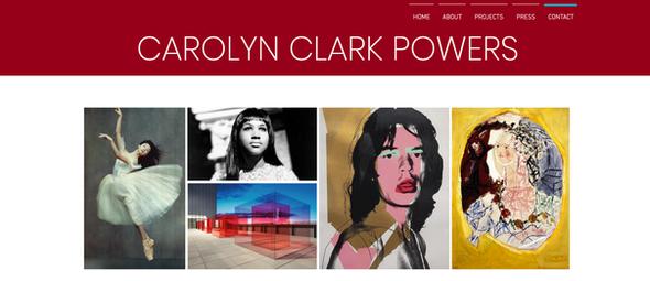Brand Identity   Carolyn Clark Powers