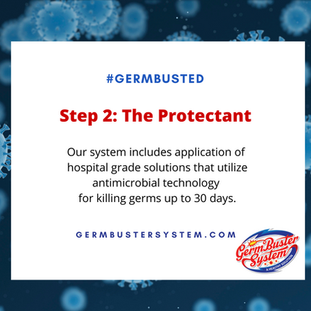 Germ Buster System Keeping Essential Businesses Safe