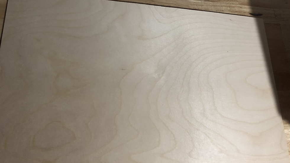 "1/4"" Baltic birch sheets (non glowforge material)"