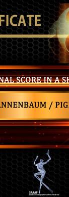 Best Original Score in a Short Film.