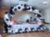 арка из шаров на футбол томск заказать.j