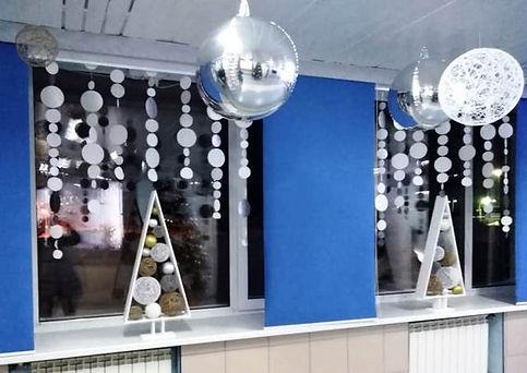 Оформление Нового года в офисе Томск Кем