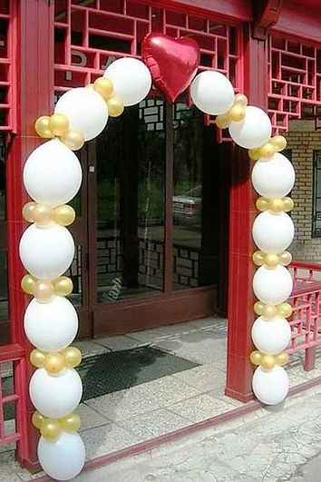арка из воздушных шаров линколун томск з