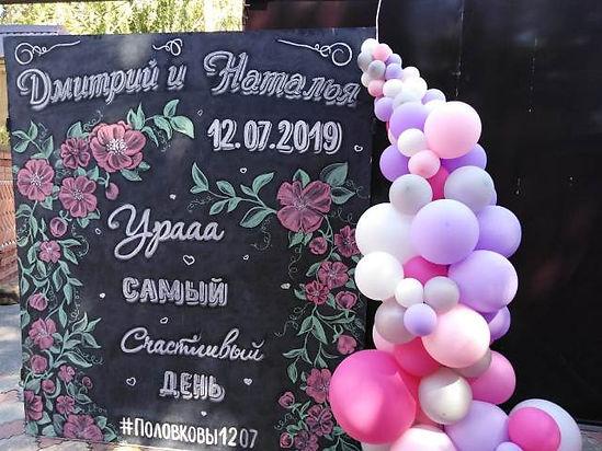 воздушные шарики на свадьбу томск.jpg