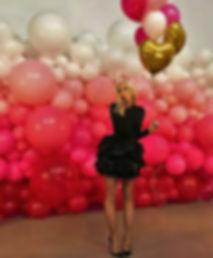Пано из разнокалиберных воздушных шаров томск