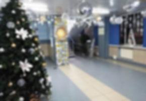 Оформление новогоднее офиса Томск Кемеро