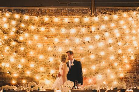 Ретро гирлянда. Красивая свадьба. Томск