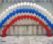 арка из гелиевых воздушных шаров томск з