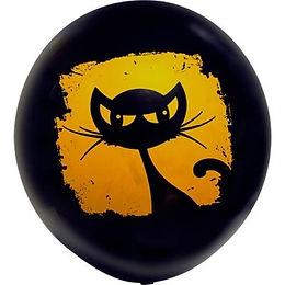 воздушный шар на хеллоуин