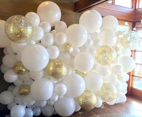 оформление шарами томск