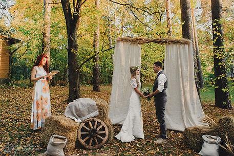 оформление свадьбы на природе томск