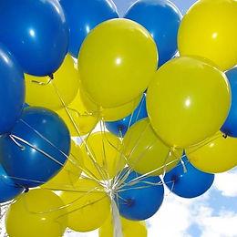 Воздушные и фольгированные гелевые шары.