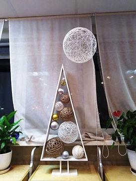 Новогодний декор ёлочка декораторская то