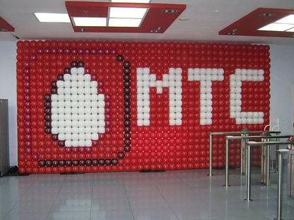 оформление шарами на корпоратив в томске