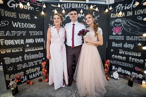 цвет свадьбы. безумная свадьба в томске