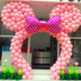 арка из воздушных шаров Микки Маус томск