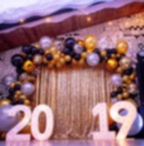 Арка из воздушных шаров на новый год том