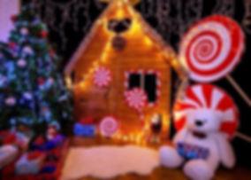 Фотозона на детский новогодний праздник