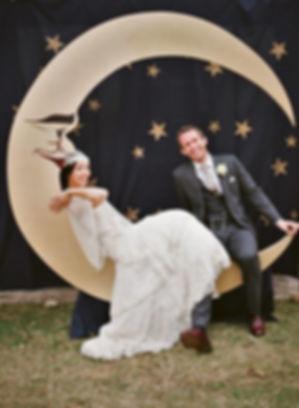 Свадебная фотозона луна томск