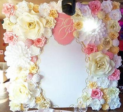 Баннер на свадьбу. Фотосессия