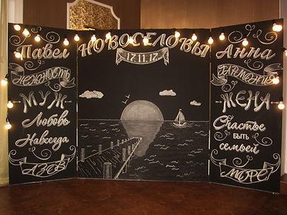 Фотозона на свадьбу украшение зала.JPG