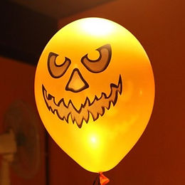 оформление на хеллоуин