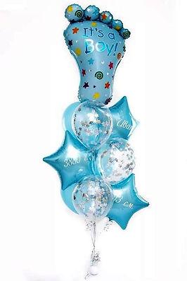 фонтан из шаров на выписку томск.jpg