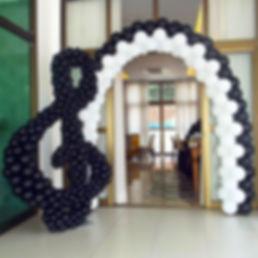 арка из шаров музыкальный ключ томск зак