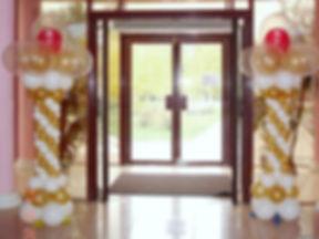 колонны из воздушных шаров томск заказат
