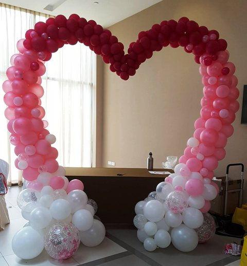 арка на свадьбу из шаров томск.jpg