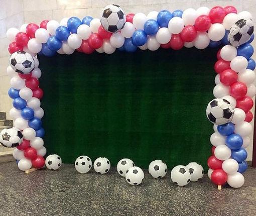 футбольная арка из воздушных шаров томск