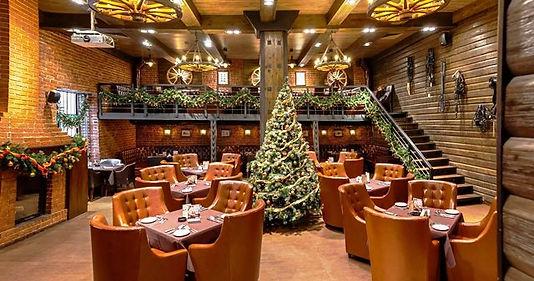новогоднее украшение ресторана томск нов