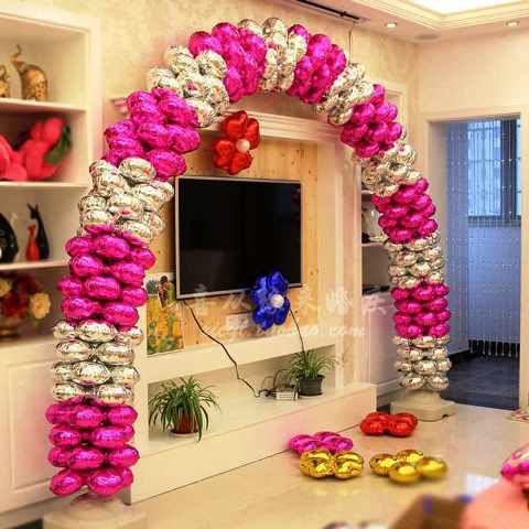 арка из фольгированных шаров  томск зака
