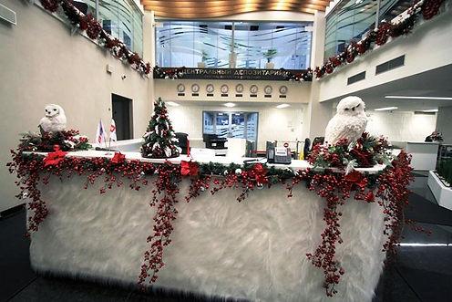 новогоднее оформление офиса томск кемеро